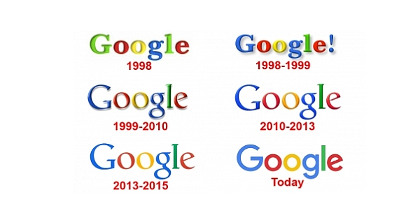 Google's Logo: Why do Businesses change their Typeface?