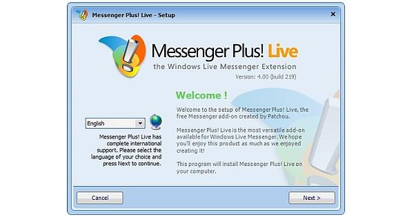 Messenger-Plus-Live