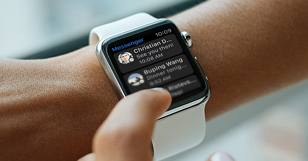 Facebook Messenger for Apple Watch has Finally Arrived!