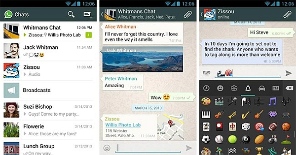 Download WhatsApp 2.12 apk