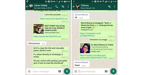 Whatsapp Messenger Update Url Previews Amp Clear Chat