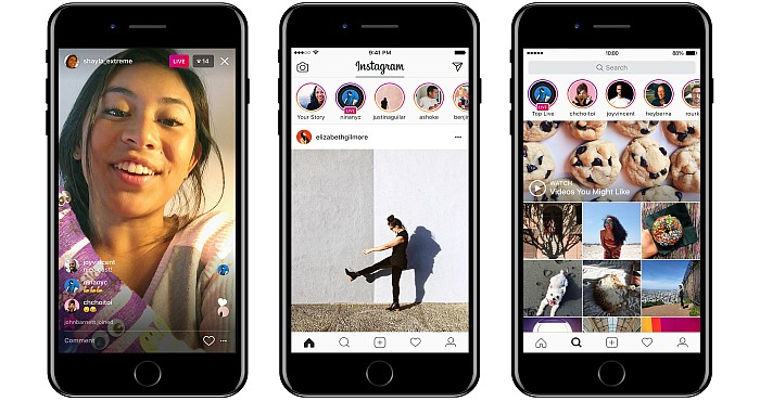 Feature which lets you update Live Photos on Instagram