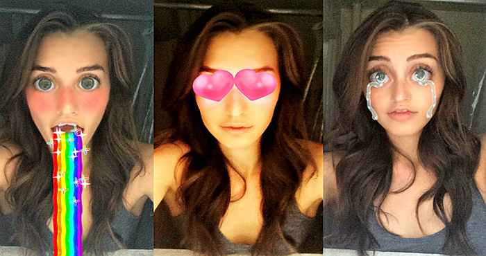 Download Snapchat and try Newest Lenses