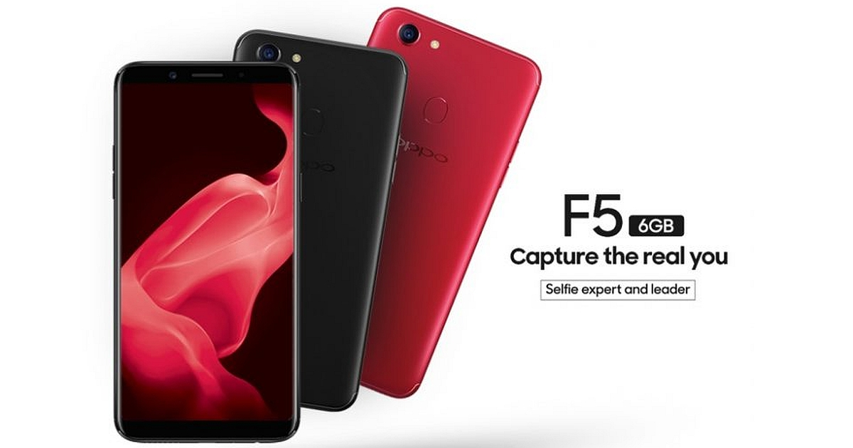 Oppo F5 Arrives In India