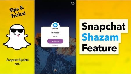 How to Discover Music On Snapchat with the Shazam Feature
