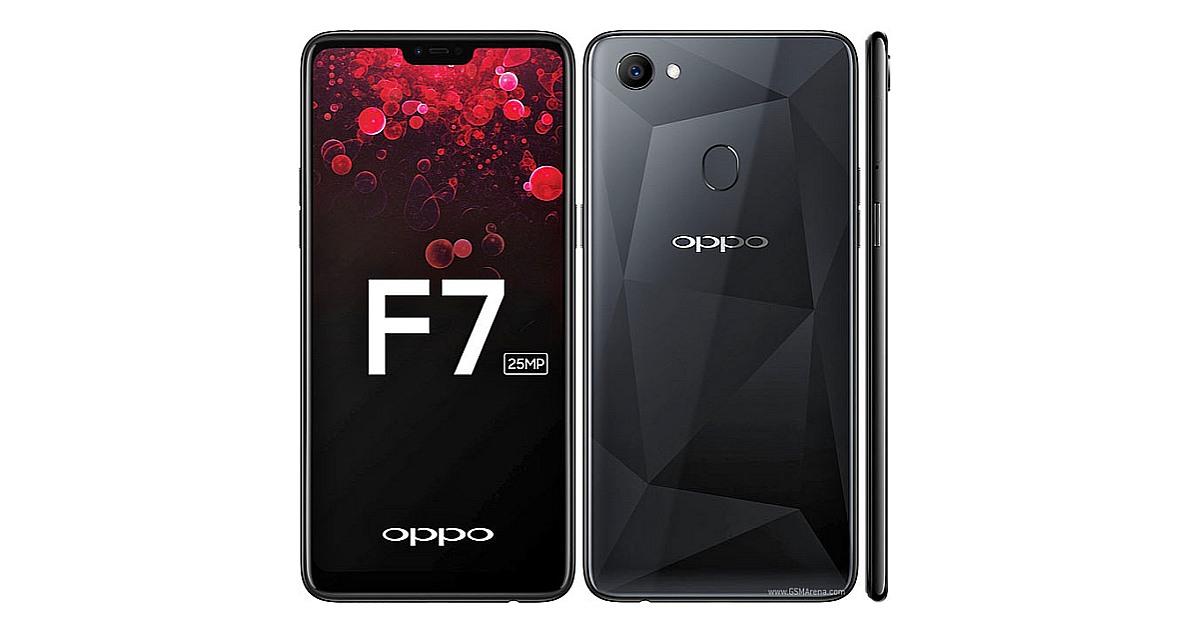 New OPPO F7 smartphone