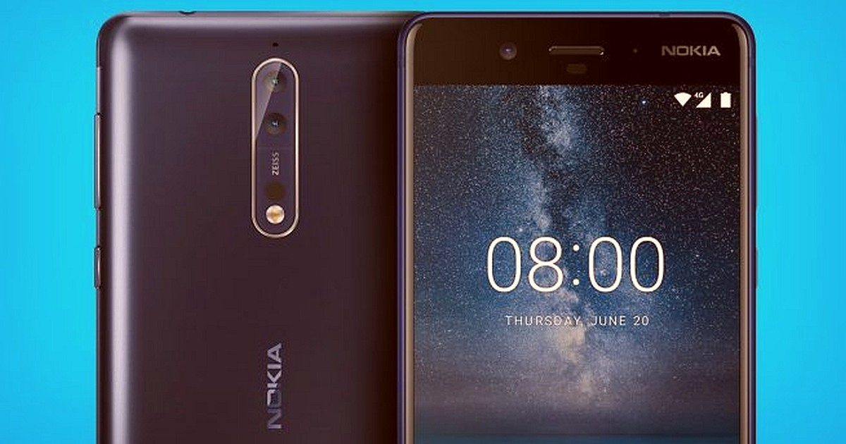 Nokia 8 Camera is Being Updated: Nokia 8 Sirocco