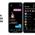 Facebook Messenger Sports The Famous Dark Mode
